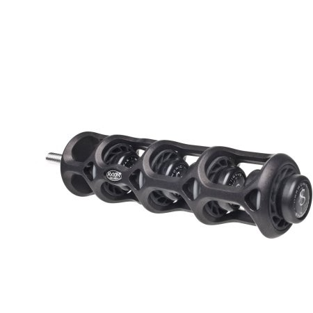Axion Silencer, Black 4""